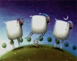 Contando ovejas para dormir